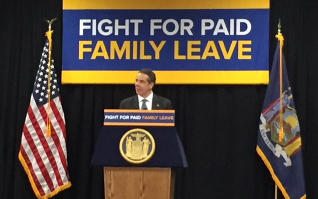 cuomo paid family leave_374698
