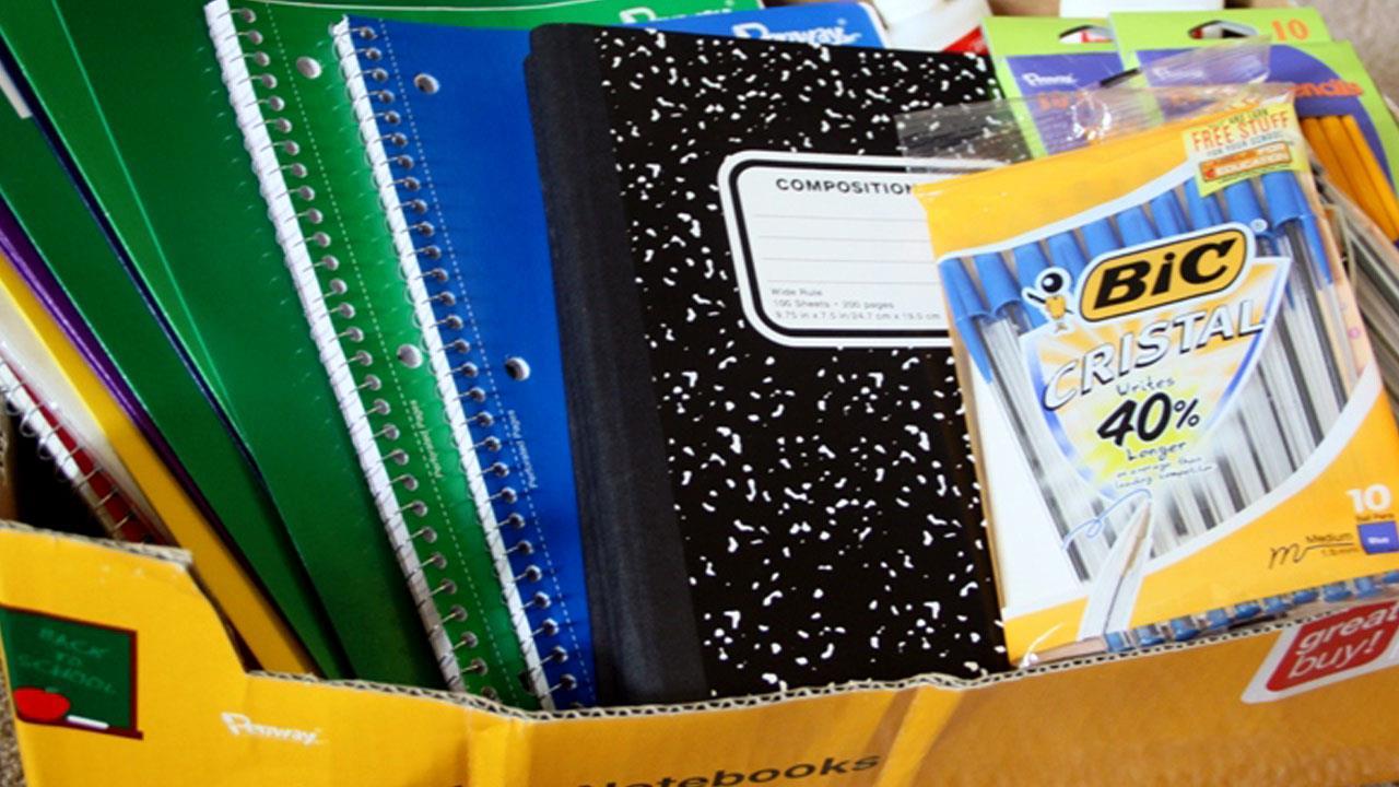 school supplies generic