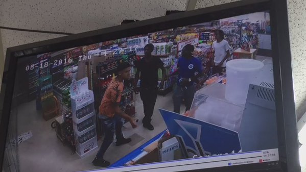 Menands Gas Station Fight_457087