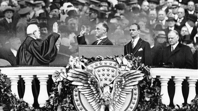 Franklin D. Roosevelt, Charles E. Hughes, Herbert Hoover, James Roosevelt_525794