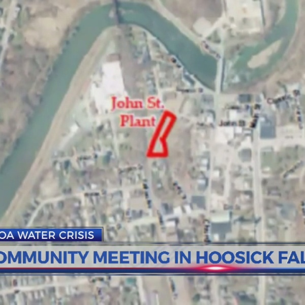 Community meeting being held in Hoosick Falls over PFOA contamination