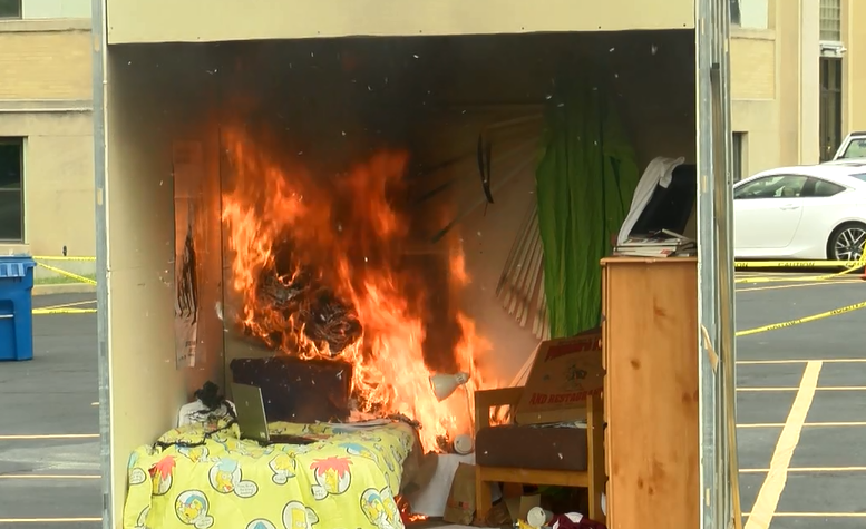 Fire officials: 90 percent of dorm fires caused by cooking
