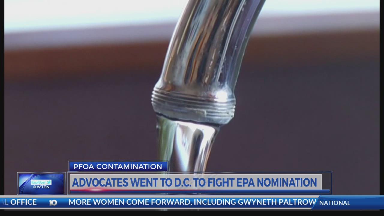 Hoosick Falls water advocates take fight to Washington