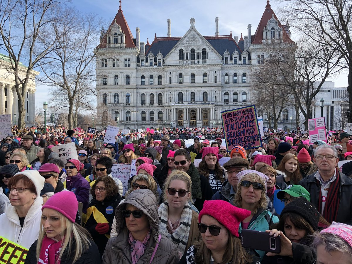 National Women's March Albany 2 1-20-18_687758