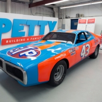 NASCAR Petty Auction Auto Racing_705136