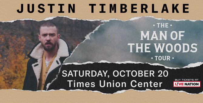 Justin Timberlake Times Union Center 1522761453180