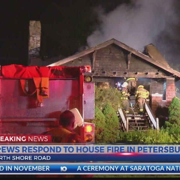 House fire injures two people, including a firefighter