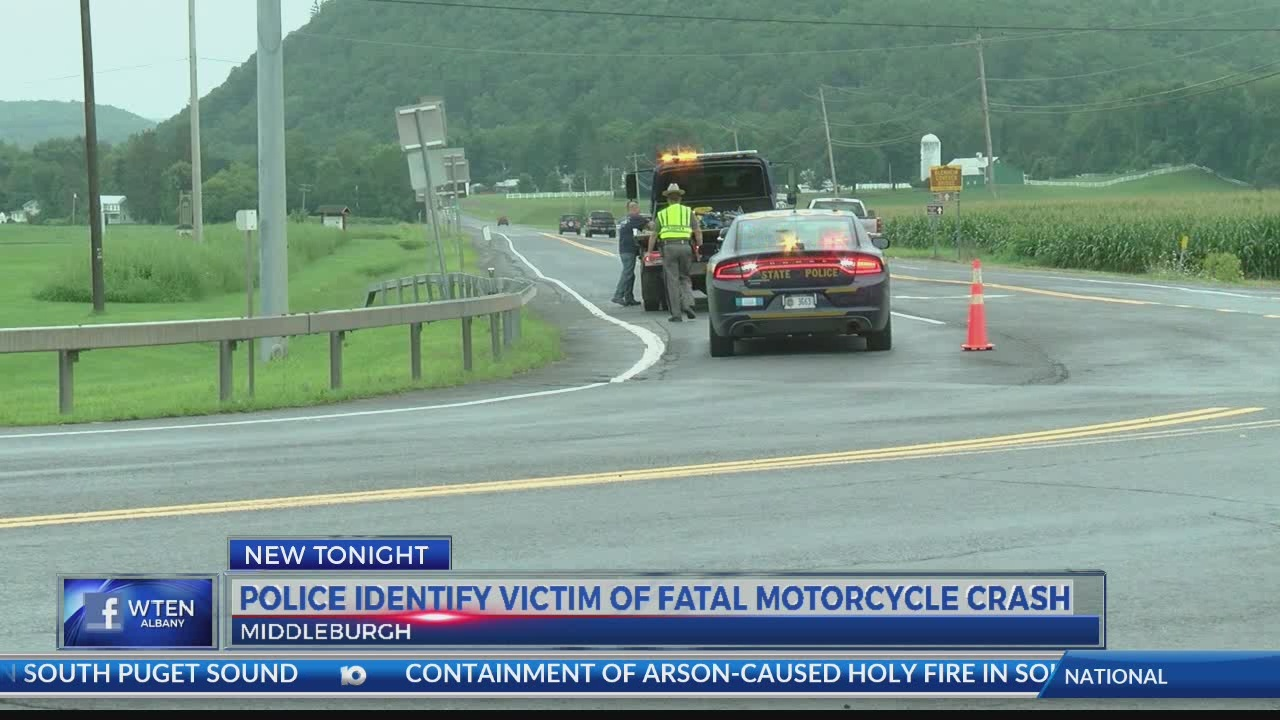 Police identify the victim of a fatal motorcycle crash