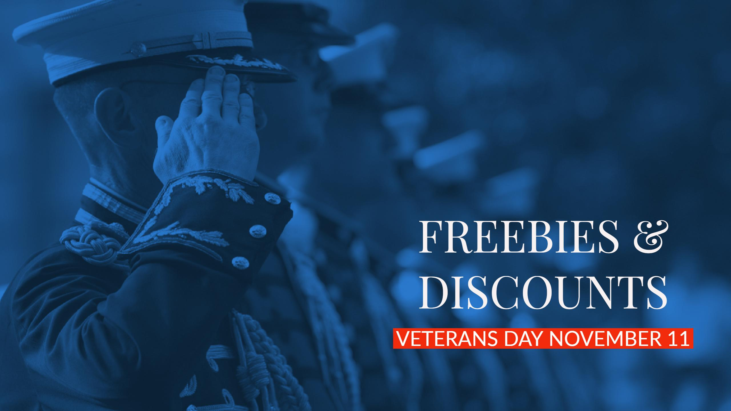 Veterans Day Discounts Freebies_656519