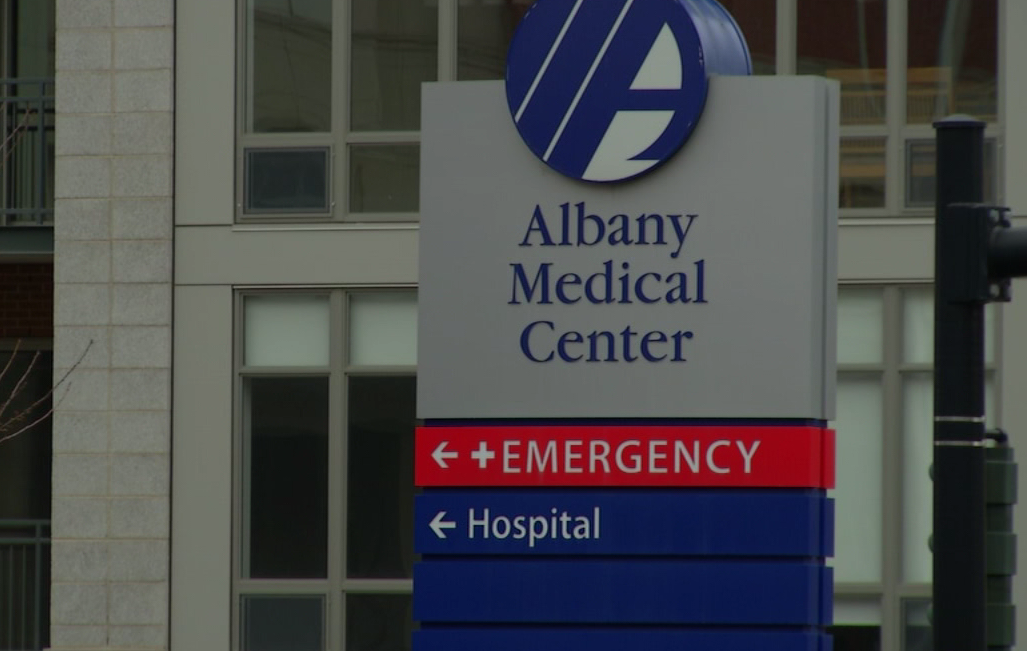 Albany Medical Center sign