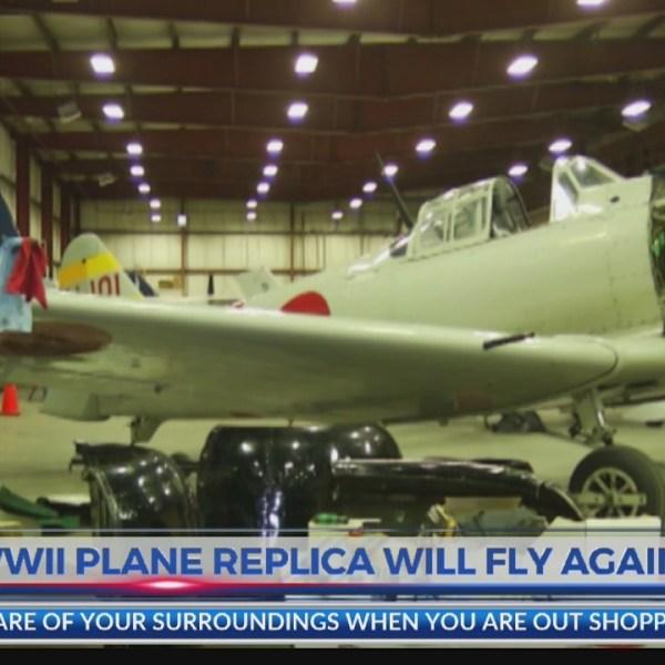 WWII Plane replica