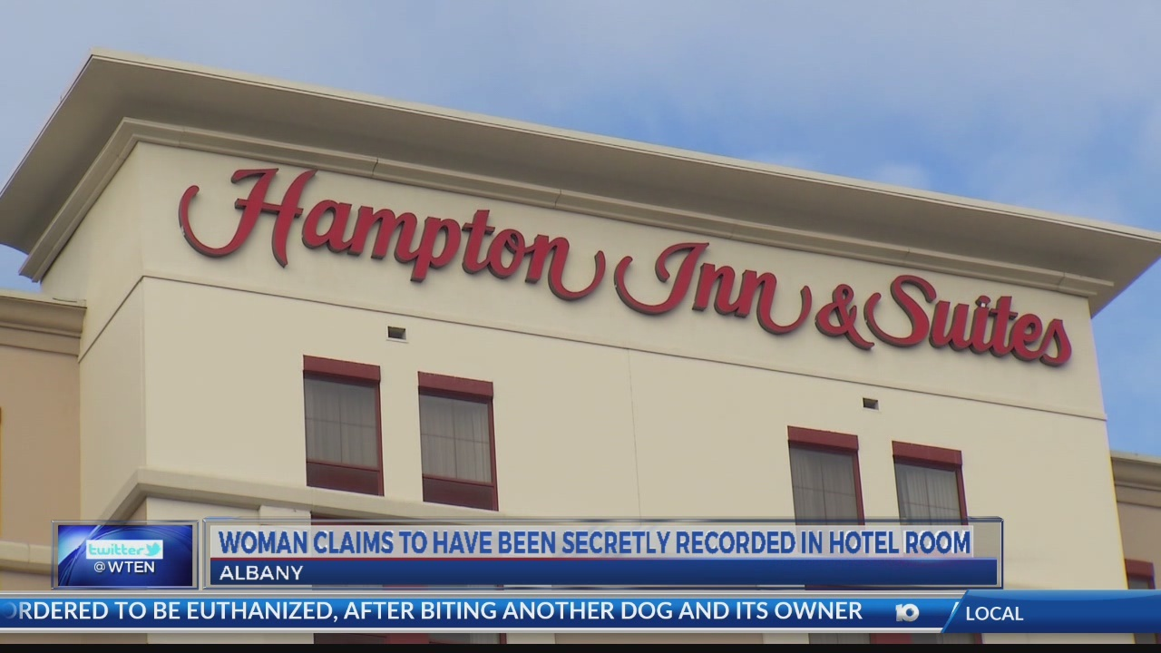 Woman claims to have been secretly recorded in Albany hotel room