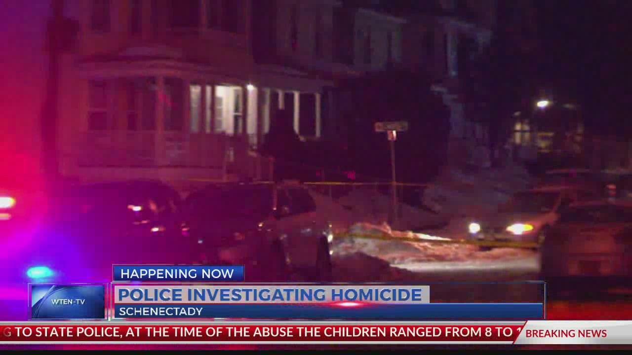 Schenectady police investigate homicide on Becker Street