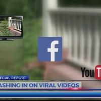 Cashing in on viral videos
