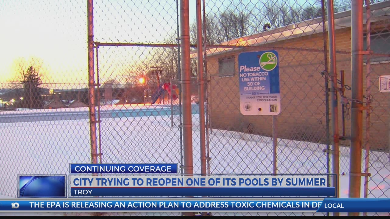 Troy trying to reopen city pool by summer