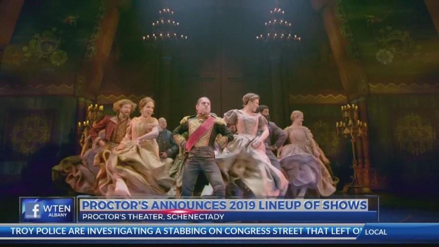 Proctors Schedule 2019 Proctors announces 2019 lineup of shows