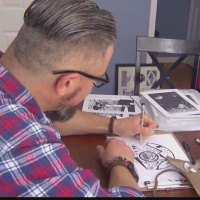Unlikely artist with decorated past emerges in the Capital Region