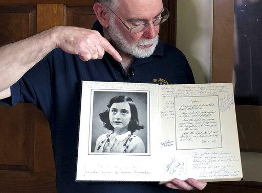 Ryan Cooper, Anne Frank
