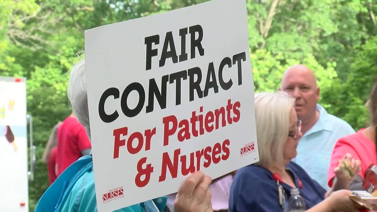 Albany Med nurses preparing to strike over contract dispute