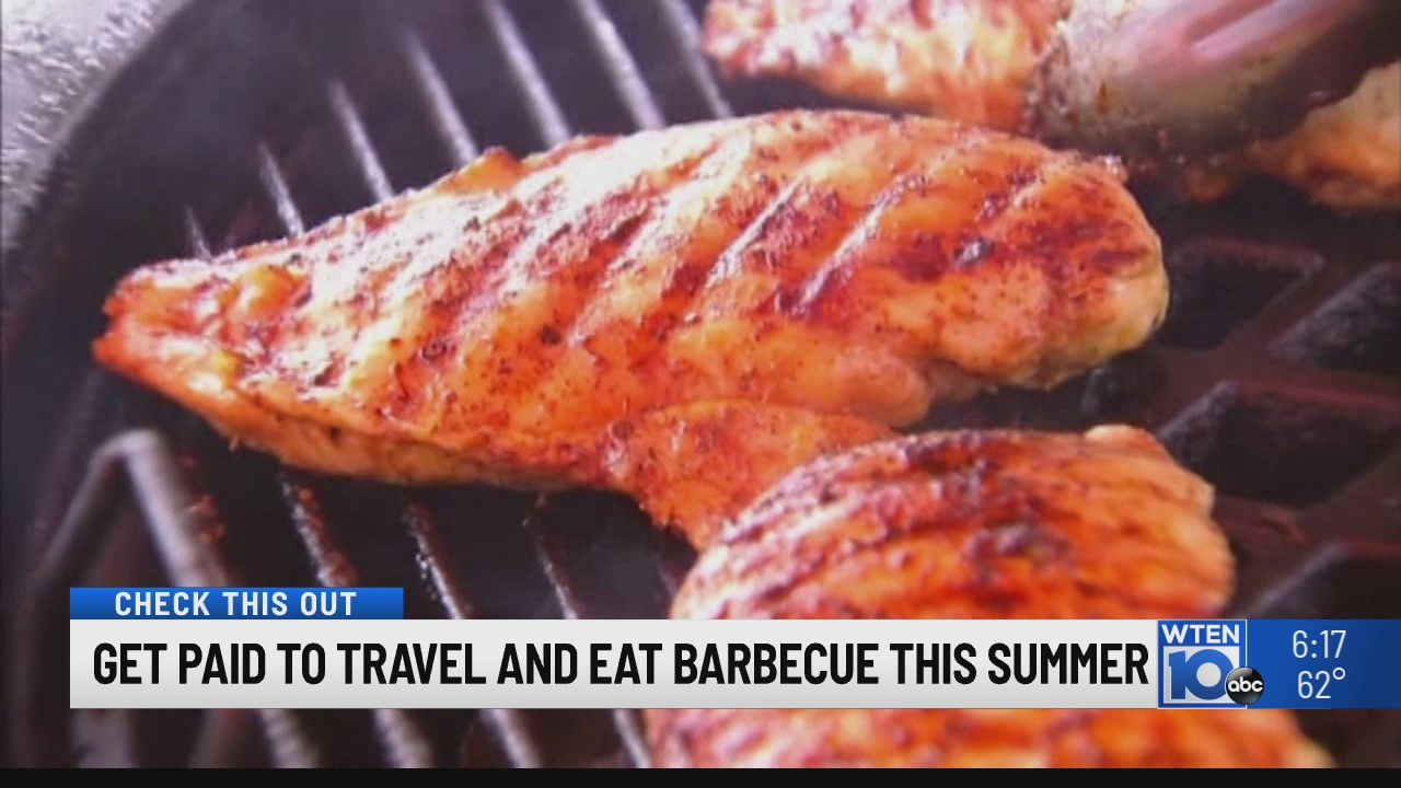 Get paid to travel and eat barbecue this Summer