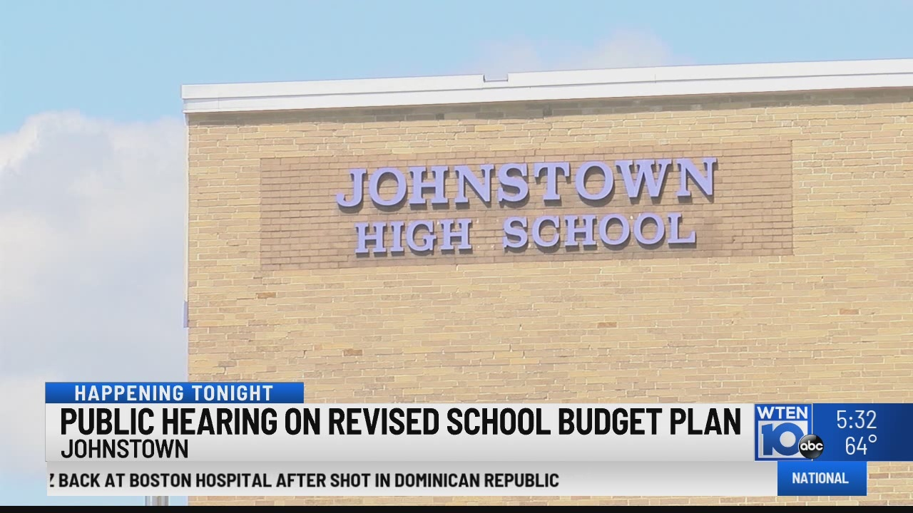 Public hearing ahead of Johnstown CSD budget revote