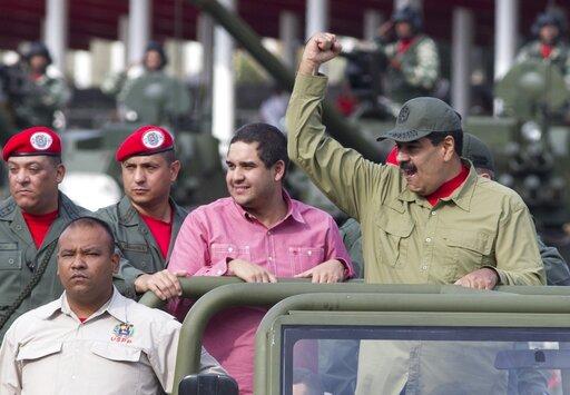 Nicolas Maduro, Nicolas Maduro Guerra