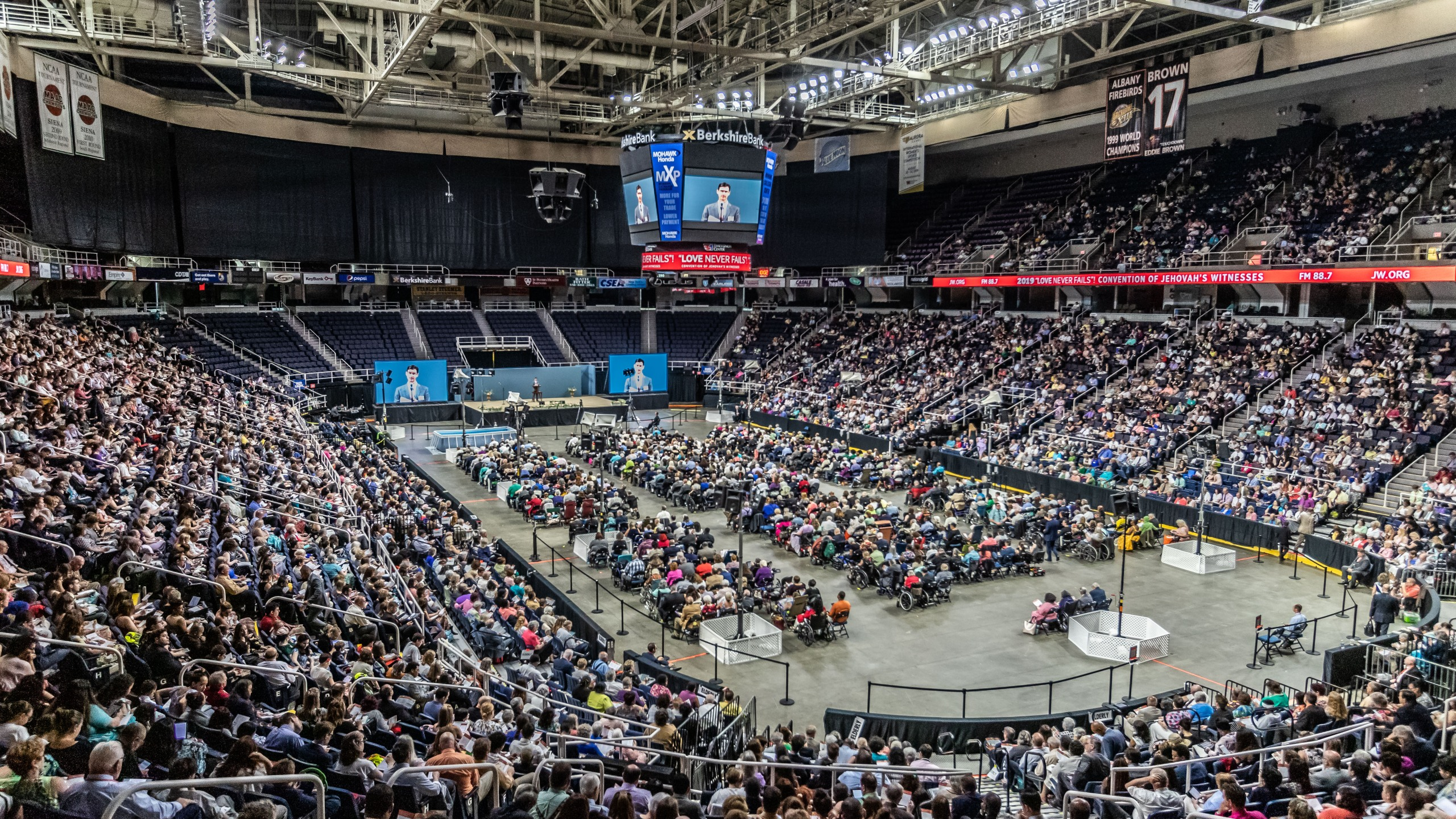 Times Union Center hosts Jehovah's Witnesses convention