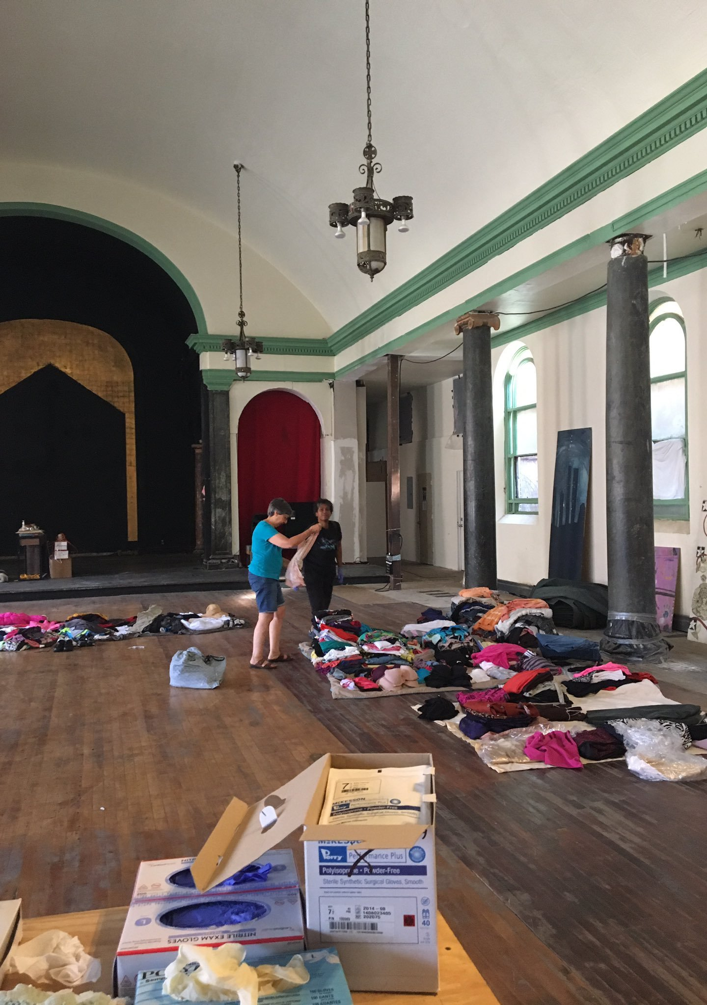 Donations are now being accepted for Myrtle Ave  fire victims