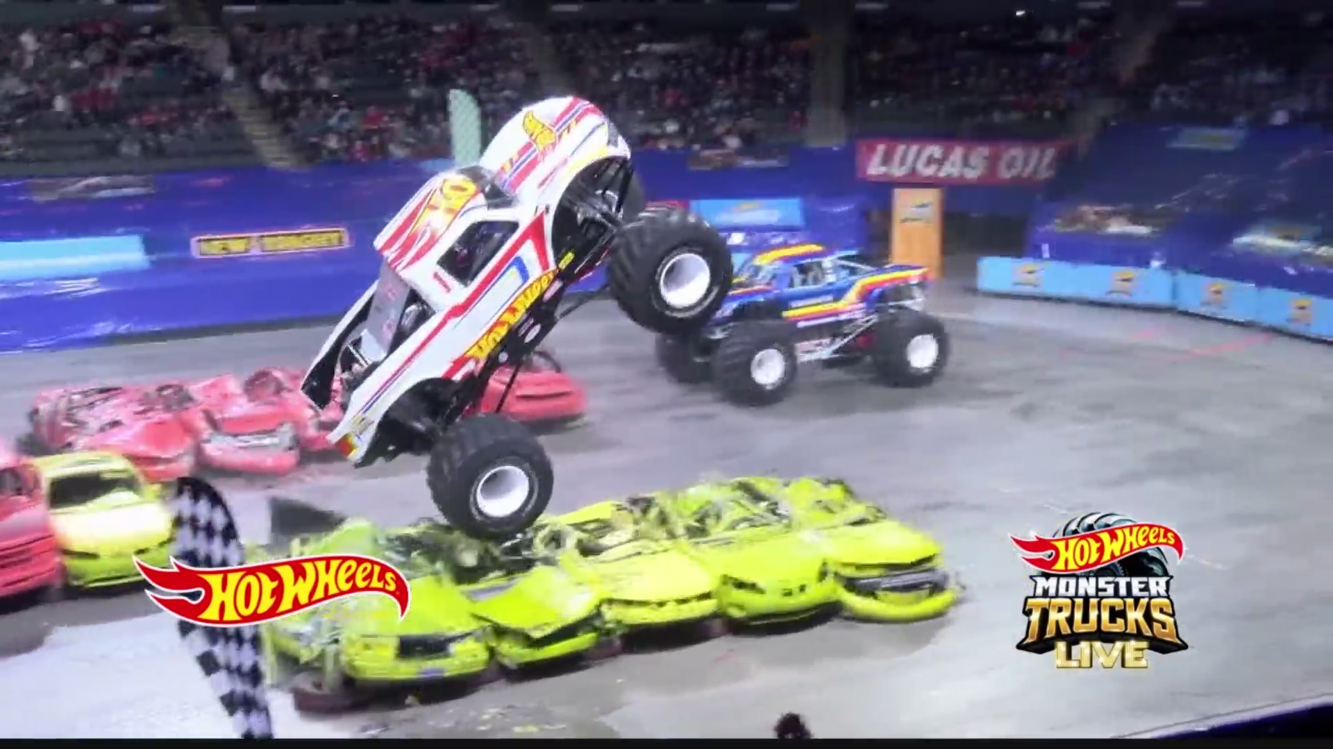 Hot Wheels Monster Truck Live At Tu Center