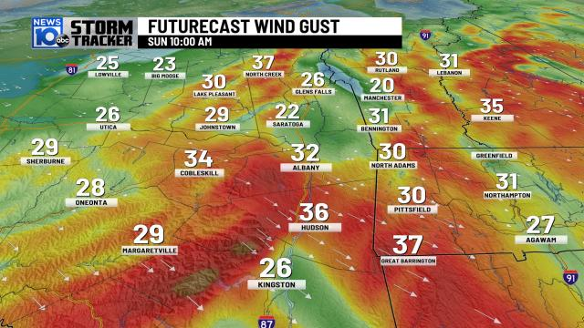 1/5/2020: Cold & windy for Sunday, snow chances ahead