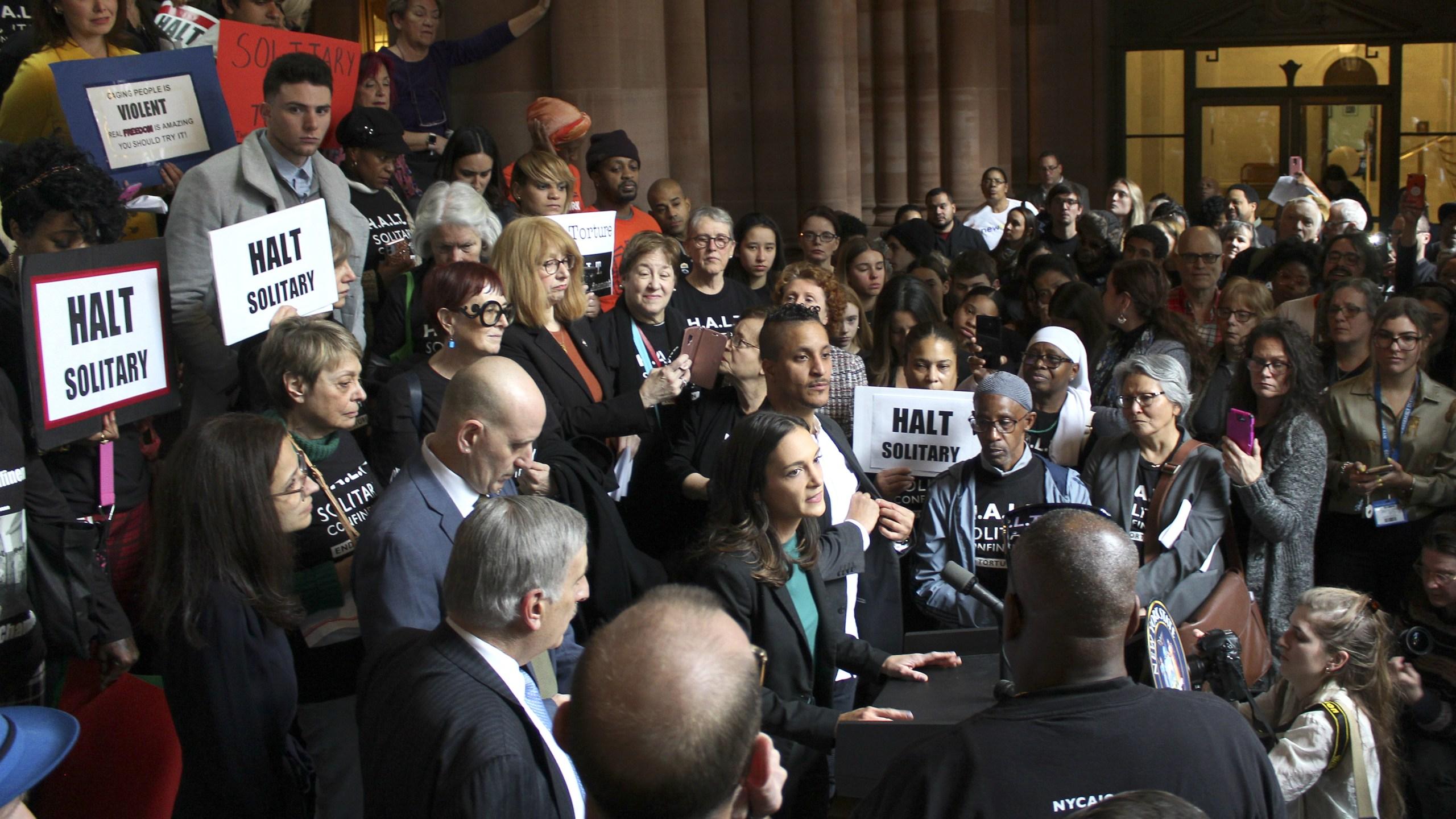 pro bail reform demonstration