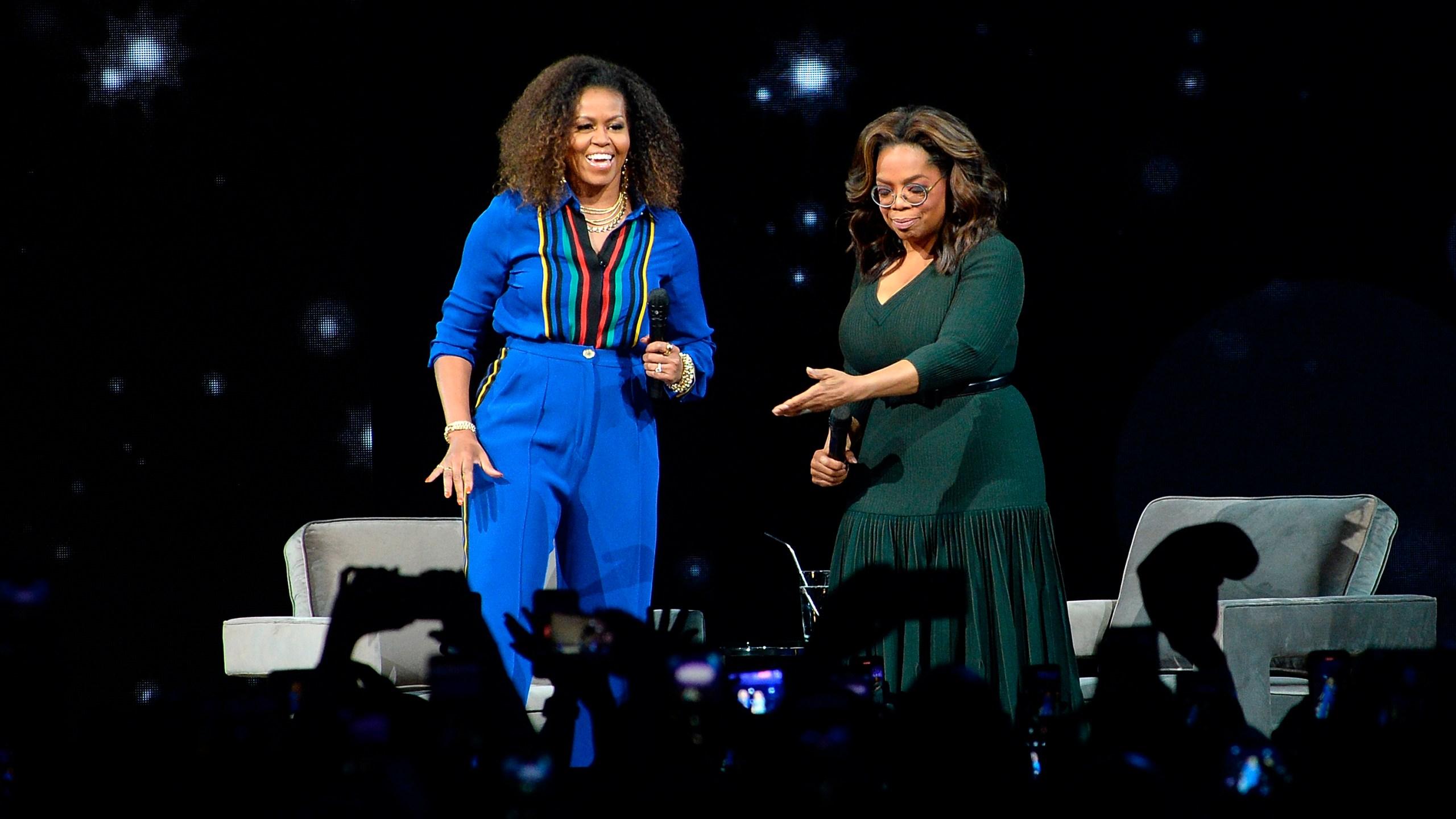 Oprah Winfrey, Michelle Obama