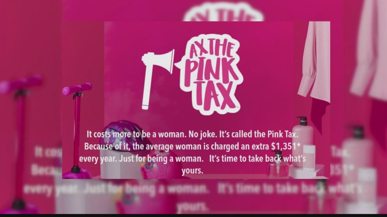 Advocates push eliminating 'pink tax' gender-based pricing