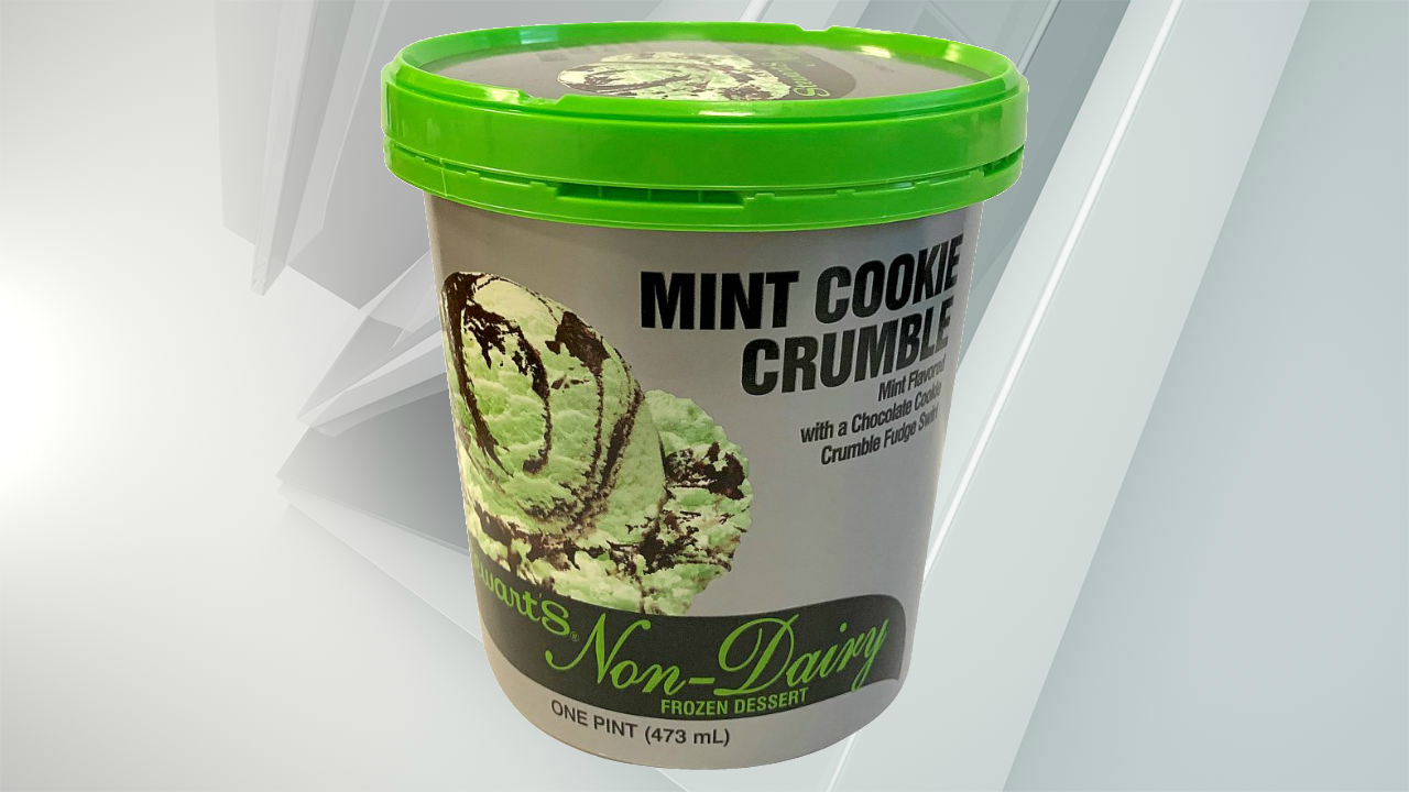 Stewart's vegan mint cookie crumble