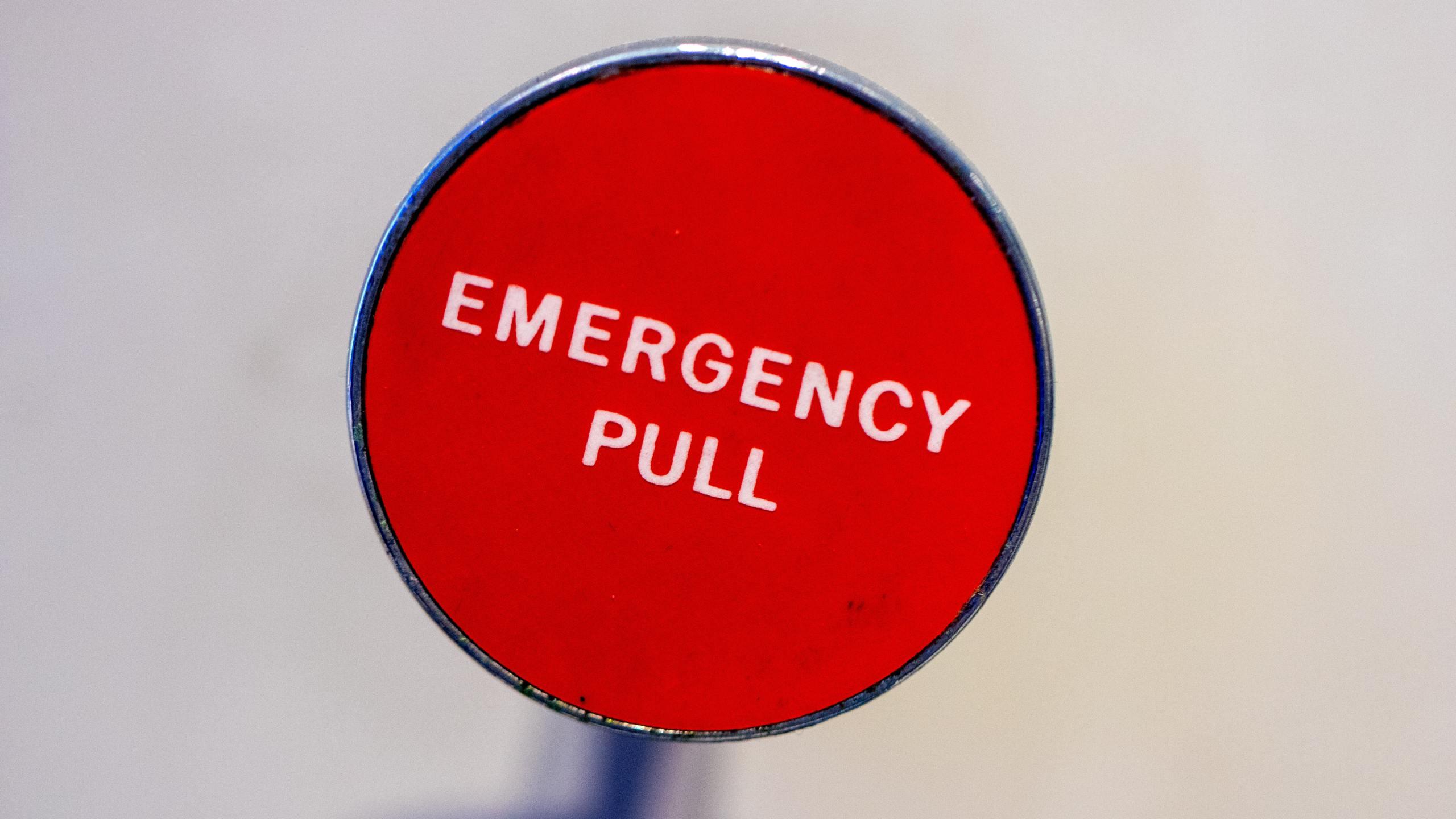 Emergency lever