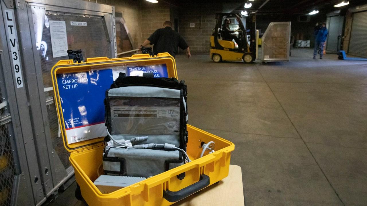 China donates 1000 ventilators to New York; Oregon donates 140