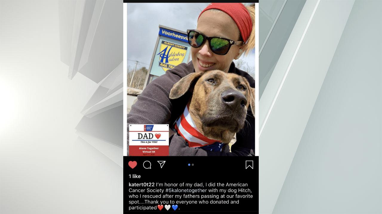 social media dog owner