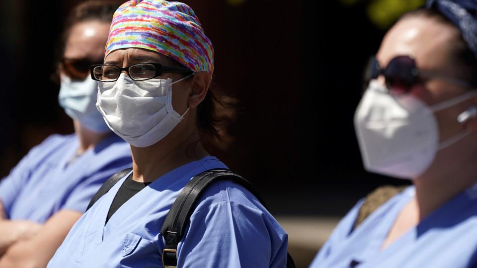 masked nurses