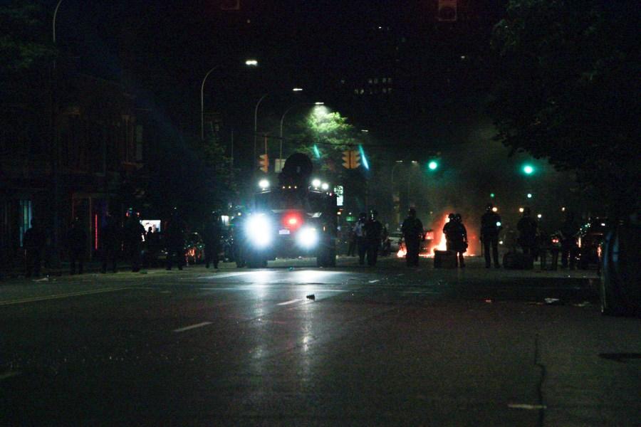 Albany riots.