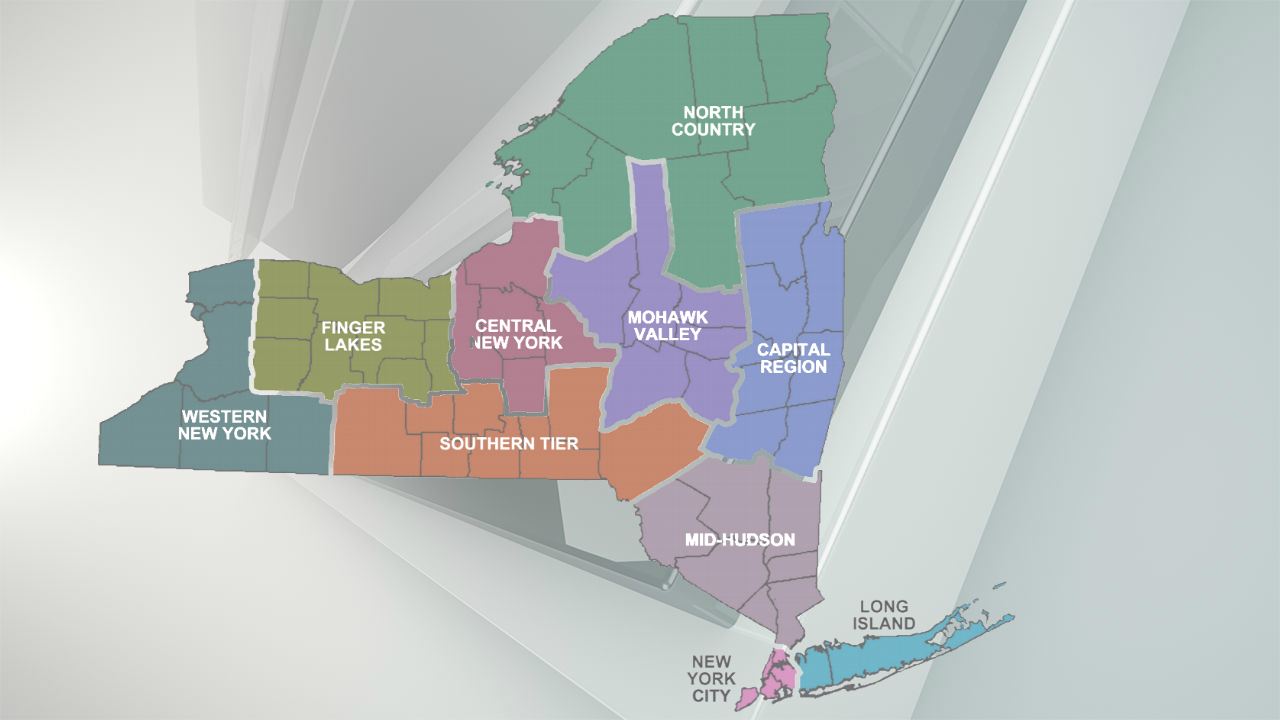 Regions of New York