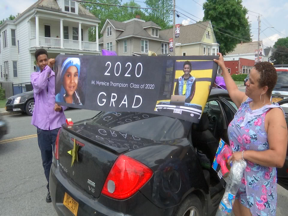 Troy honors 2020 graduates with citywide parade