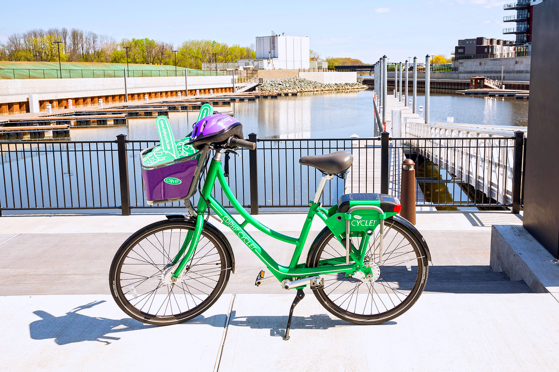 Shared green eco bike