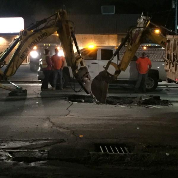 hoosick street troy water main break 06292020