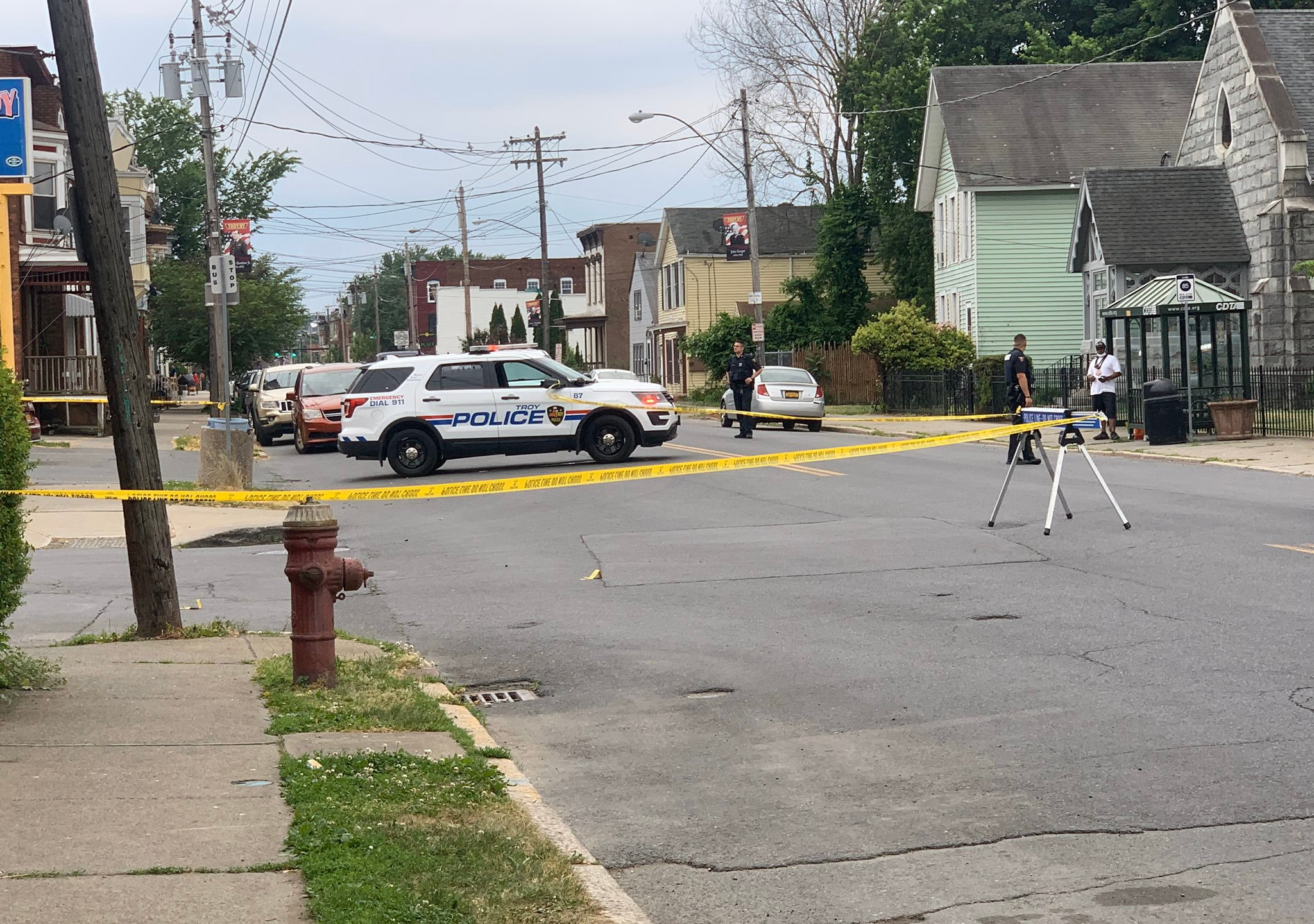 troy shooting River Street between Smith Avenue and Glen Avenue 061020