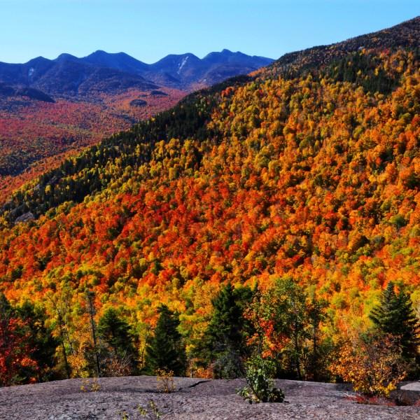 Fall foliage in Adirondack Park