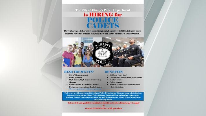 Albany Police Cadet internship