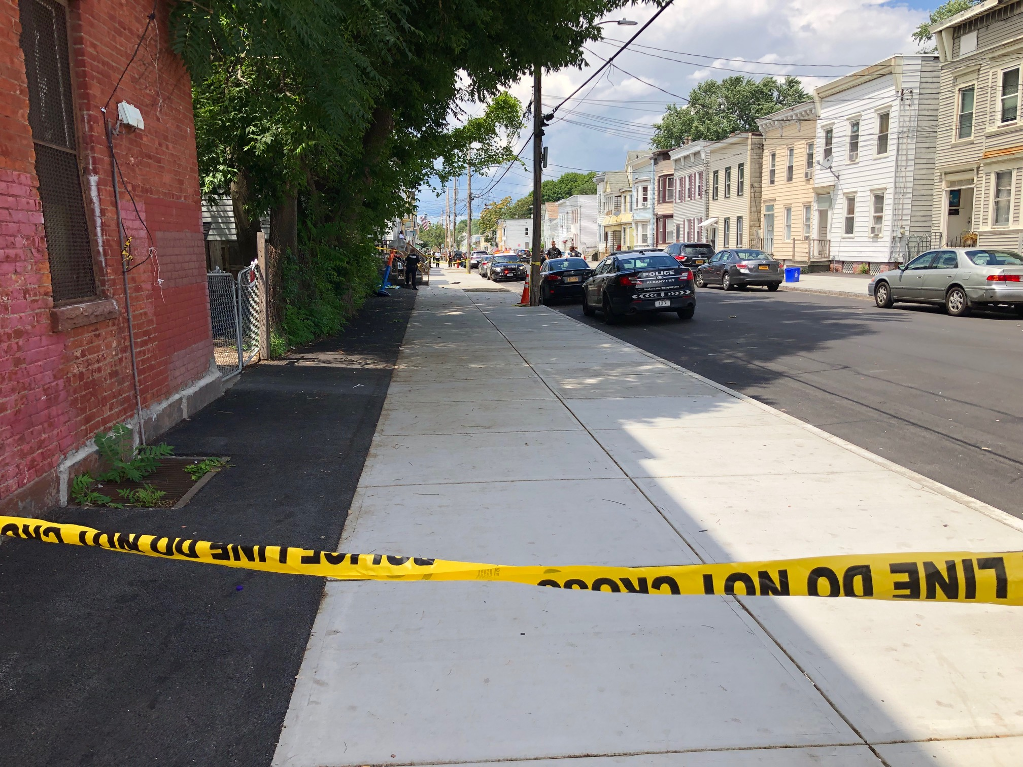 Albany Police investigating Second Street shooting