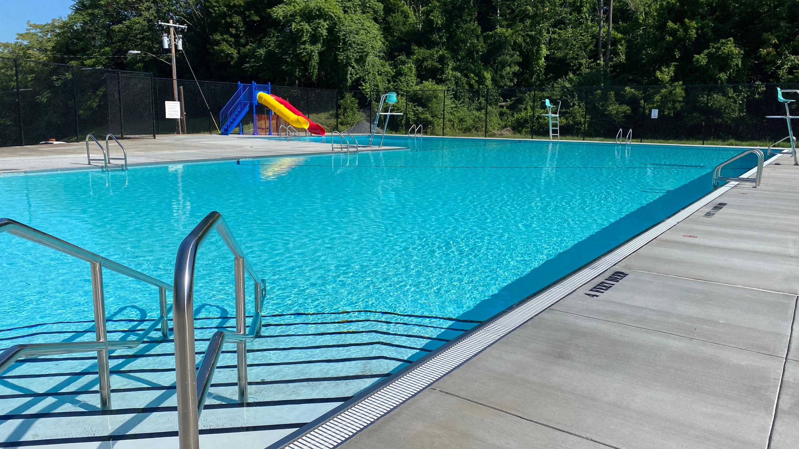 South Troy pool reopens