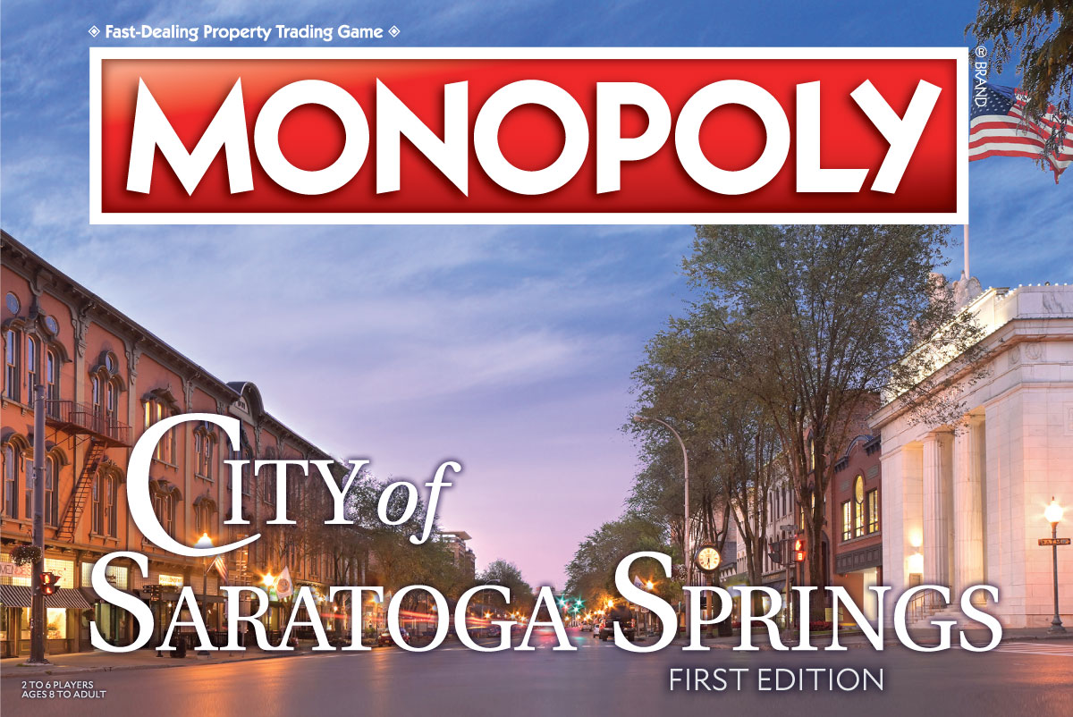 City of Saratoga Springs Monopoly