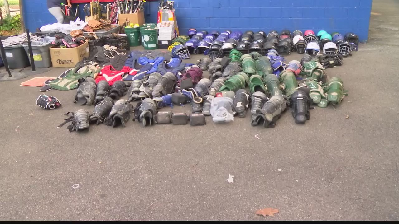 schenectady little league equipment donation